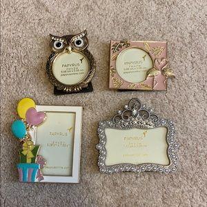 4 Mini Picture Frames